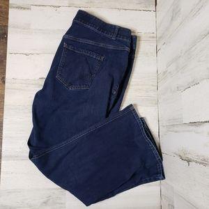 Lane Bryant Jean's shorts straight  leg size 22